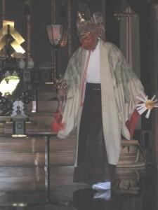 白幡八幡大神(宮前区)禰宜舞