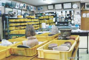 考古学研究所(有馬)展示風景1