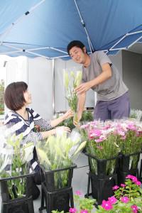 2011-1花の直売所(宮前区宮崎)