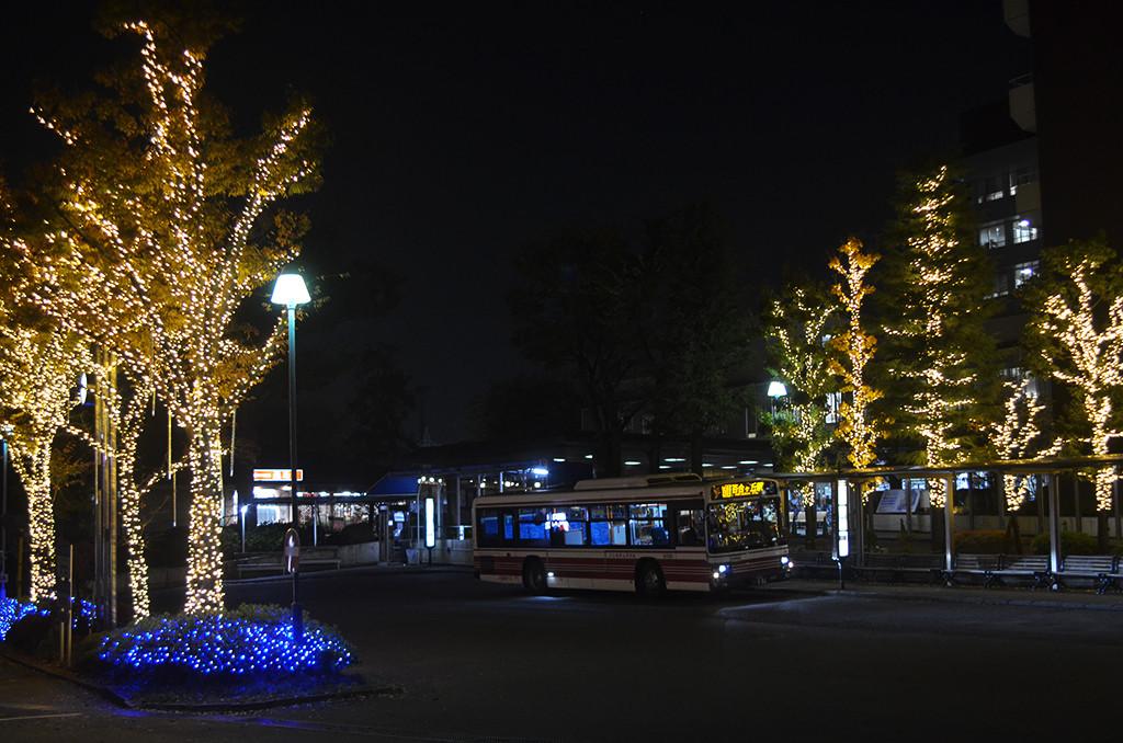聖マリアンナ医科大学病院のクリスマスイルミネーション